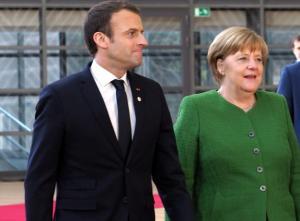 """Στο """"ψυγείο"""" το σχέδιο Μέρκελ και Μακρόν για την μεταρρύθμιση της Ευρωζώνης"""