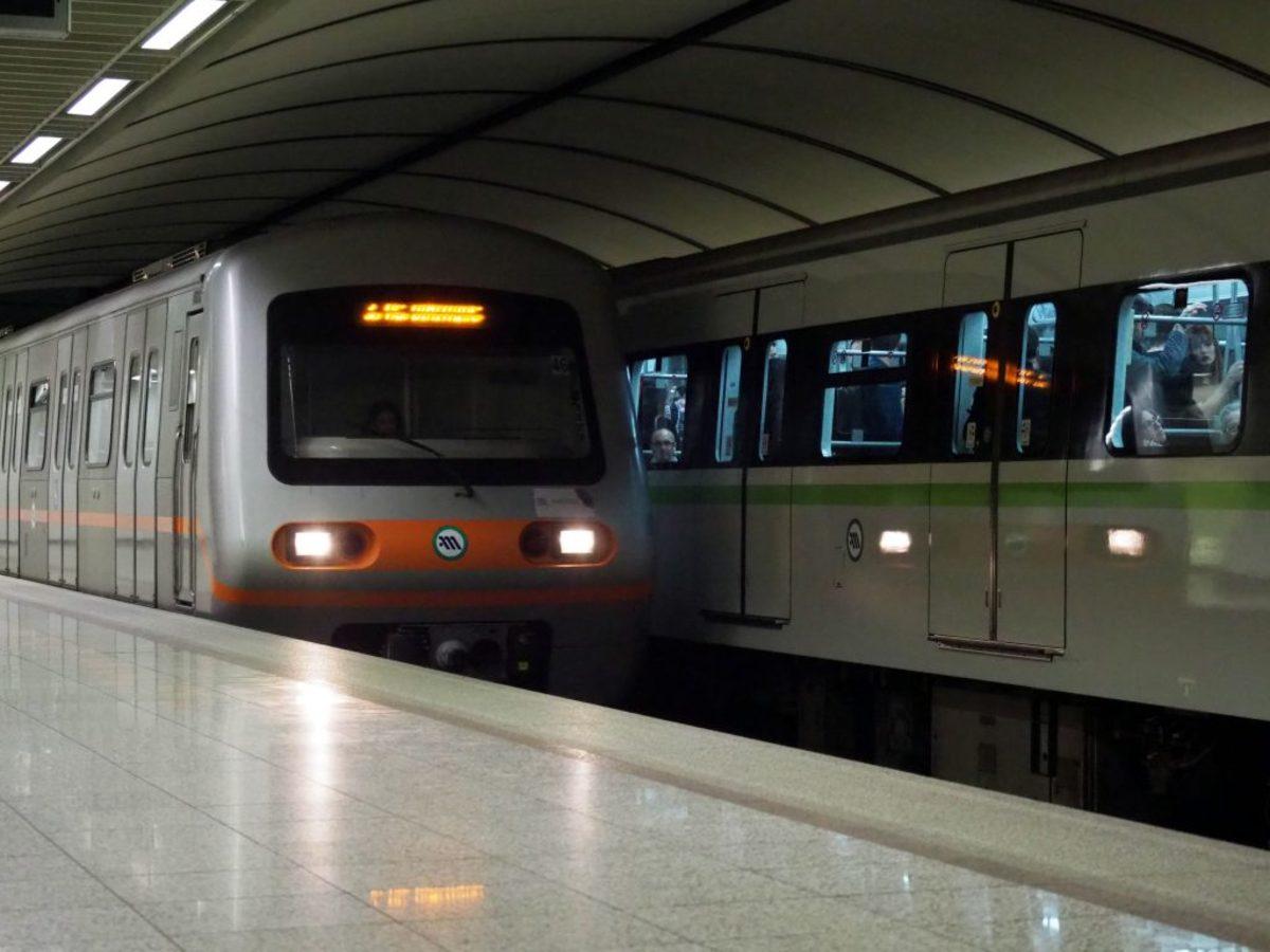 άνδρας μετρό σταθμός Δάφνη