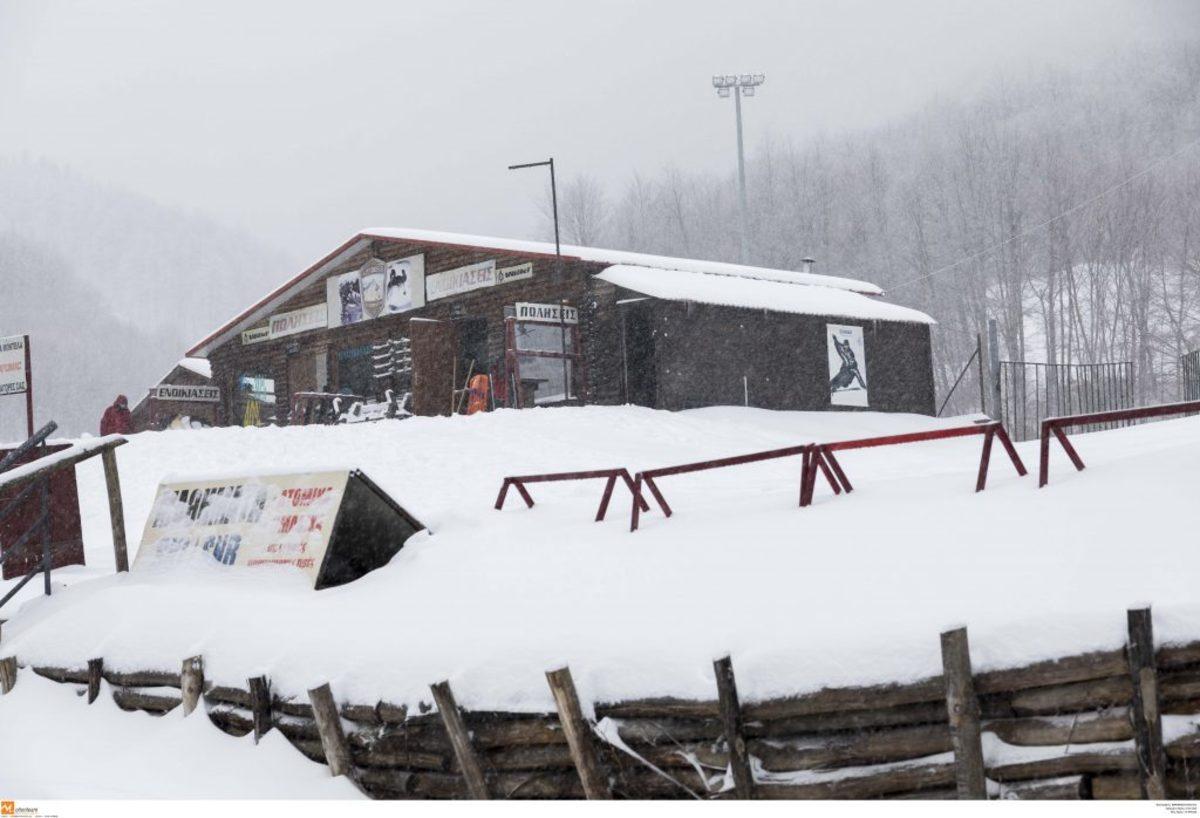 Σε δημοπρασία το χιονοδρομικό κέντρο «Τρία – Πέντε Πηγάδια»