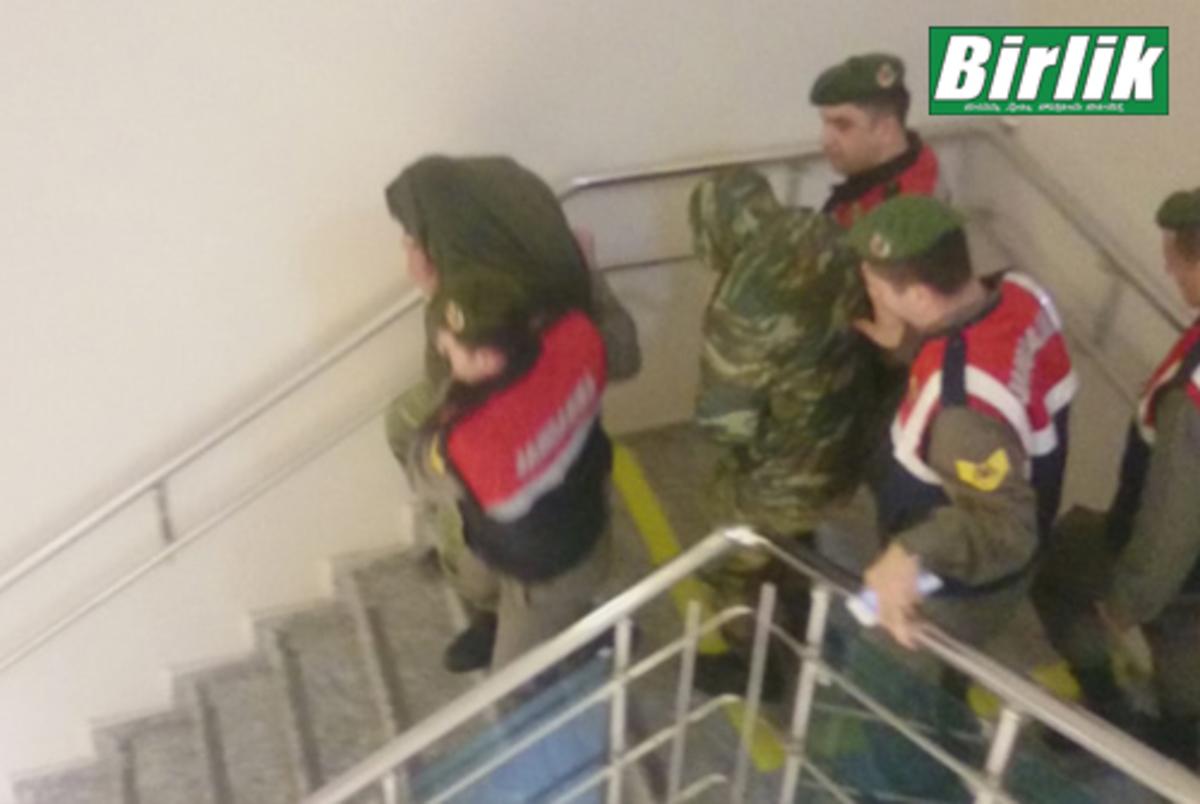 ΑΠΕ: Οι δυο Έλληνες στρατιωτικοί οδηγούνται στο δικαστήριο