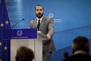 """Τζανακόπουλος: """"Δεν μας τρομάζει το ενδεχόμενο του ποδοσφαιρικού Grexit"""""""