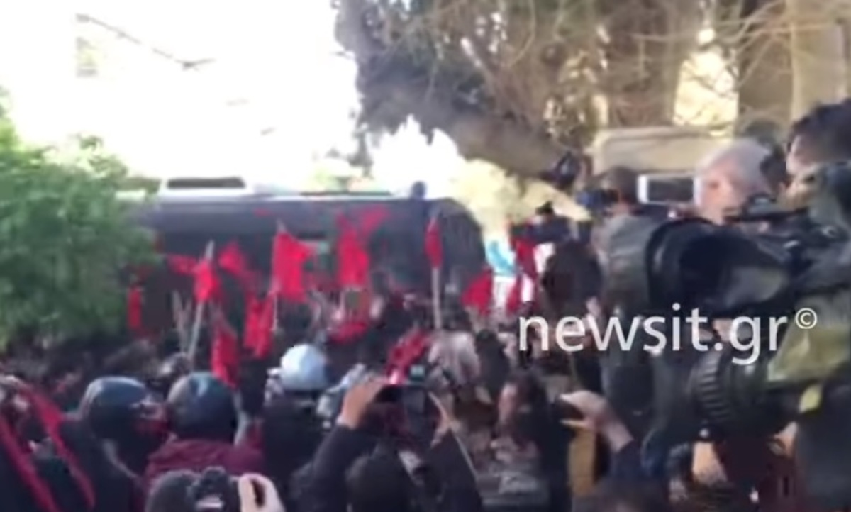 Επεισόδια στο Πανεκπαιδευτικό συλλαλητήριο της Αθήνας