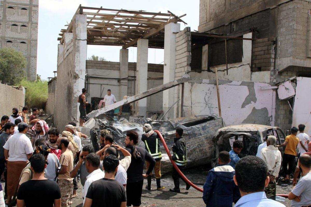 Υεμένη: Τουλάχιστον πέντε νεκροί σε επίθεση αυτοκτονίας στο Άντεν