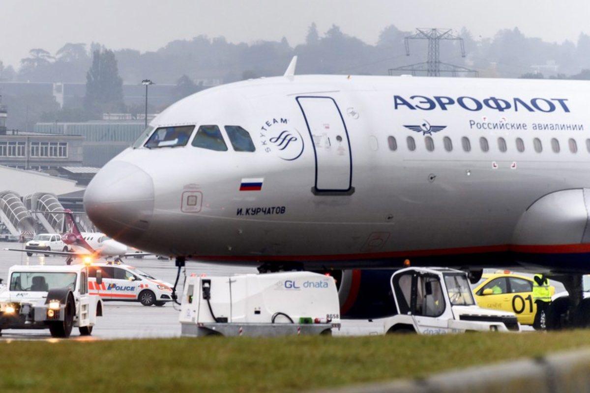 Aeroflot αεροσκάφος