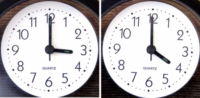 Αλλαγή ώρας 2018: Πότε γυρίζουμε τους δείκτες των ρολογιών μία ώρα μπροστά!