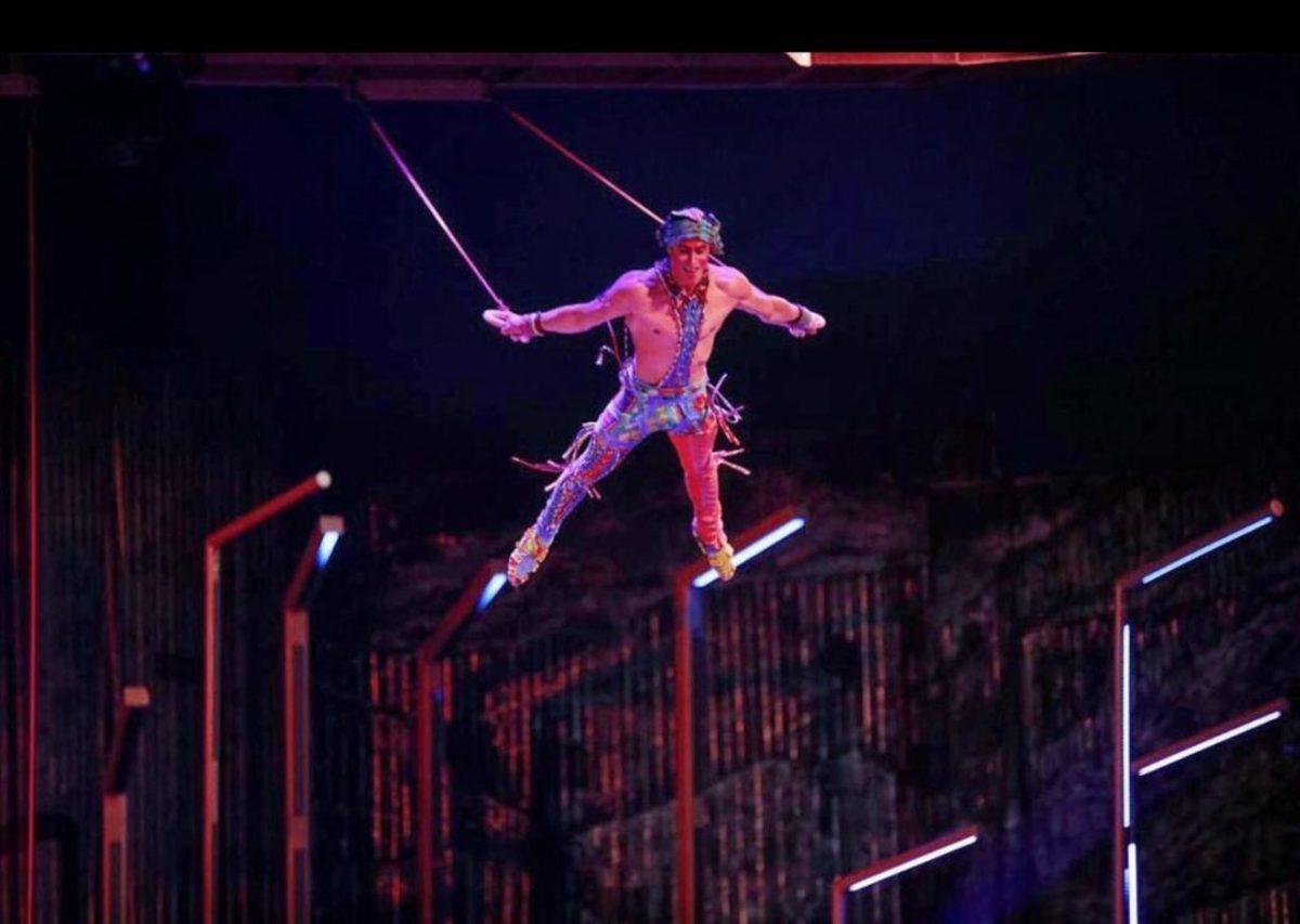 Cirque du Soleil ακροβάτης