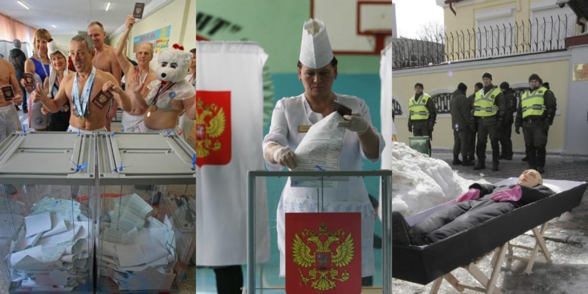 Ρωσία – Εκλογές: Όλα τα ευτράπελα