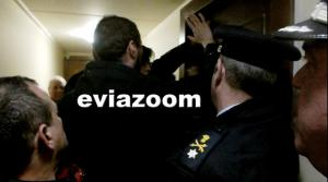 Ένταση για πλειστηριασμό στη Χαλκίδα – Τελικά ματαιώθηκε [vids]