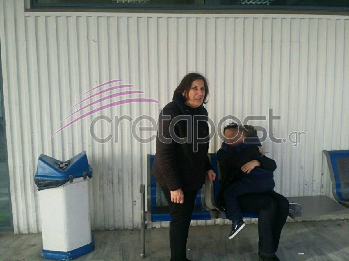 Κρήτη: Συγκινητικές στιγμές στο αεροδρόμιο Ηρακλείου! Η χήρα του καρδιολόγου και ο γιος της ξανά μαζί [pics]