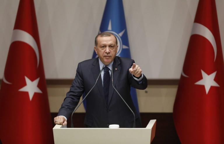 Έτοιμος… για όλα ο Ερντογάν: Είπα σε Τραμπ και Πούτιν ότι δεν θα υποχωρήσουμε από την Αφρίν