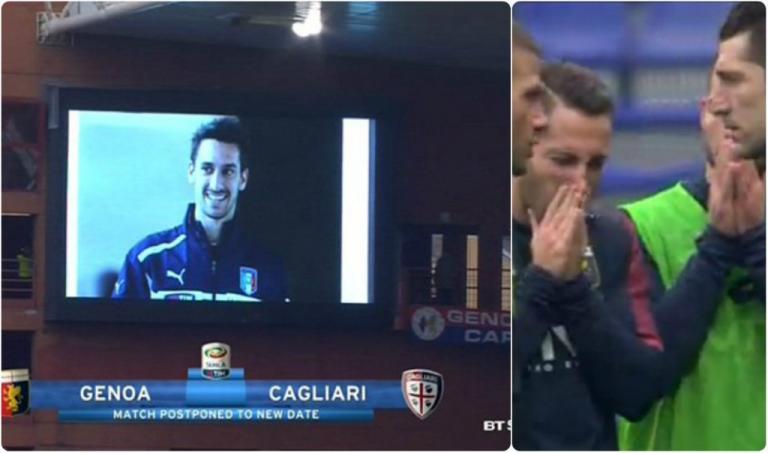 """Νταβίντε Αστόρι: """"Λύγισαν"""" οι ποδοσφαιριστές Τζένοα και Κάλιαρι στο άκουσμα της είδησης"""