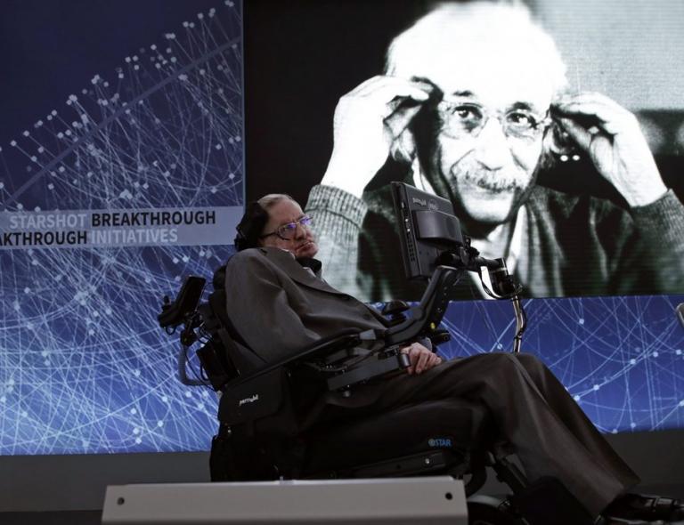 Πέθανε ο θεωρητικός φυσικός Στίβεν Χόκινγκ σε ηλικία 76 ετών