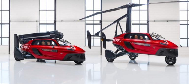 """Αυτό είναι το πρώτο ιπτάμενο αυτοκίνητο – """"Ζαλίζει"""" η τιμή του [pic]"""