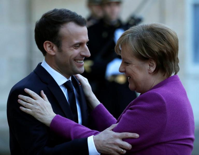 Ακόμη και η Γερμανία στηρίζει Μακρόν απέναντι στην επίθεση που δέχεται από τον Ερντογάν