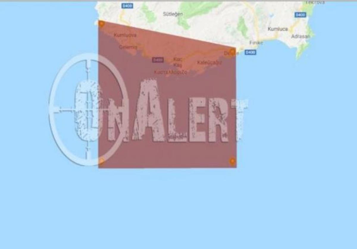Νέα τουρκική πρόκληση – Η Άγκυρα με NAVTEX δεσμεύει το Καστελόριζο