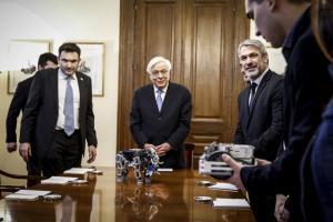 Προκόπης Παυλόπουλος: Στο ταλέντο και τις δυνατότητες της νέας γενιάς μπορούμε να χτίσουμε την Ελλάδα του 21ου αιώνα