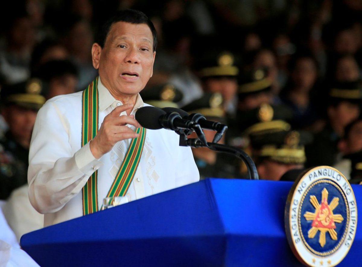 """Φιλιππίνες: Ο Ντουτέρτε εκτελεί """"εμπόρους ναρκωτικών"""" με συνοπτικές διαδικασίες"""