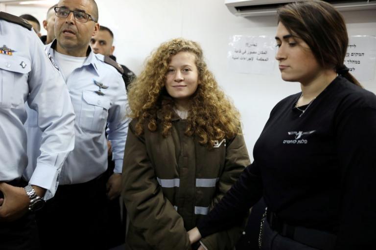 Οκτώ μήνες φυλακή στην 17χρονη Παλαιστίνια Άχεντ Ταμίμι!