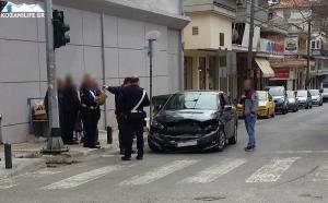 Κοζάνη: Τροχαίο για τον βουλευτή του ΣΥΡΙΖΑ, Μίμη Δημητριάδη [pics]