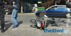 Θρήνος στην Θεσσαλονίκη – Αυτοκίνητο χτύπησε και σκότωσε 47χρονο μοτοσικλετιστή