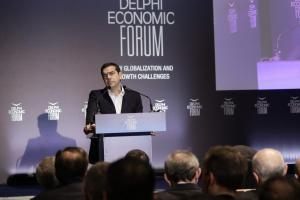 """Τσίπρας: Έξοδος από τα μνημόνια χωρίς προληπτική πιστωτική γραμμή – """"Καρφιά"""" για την Novartis"""