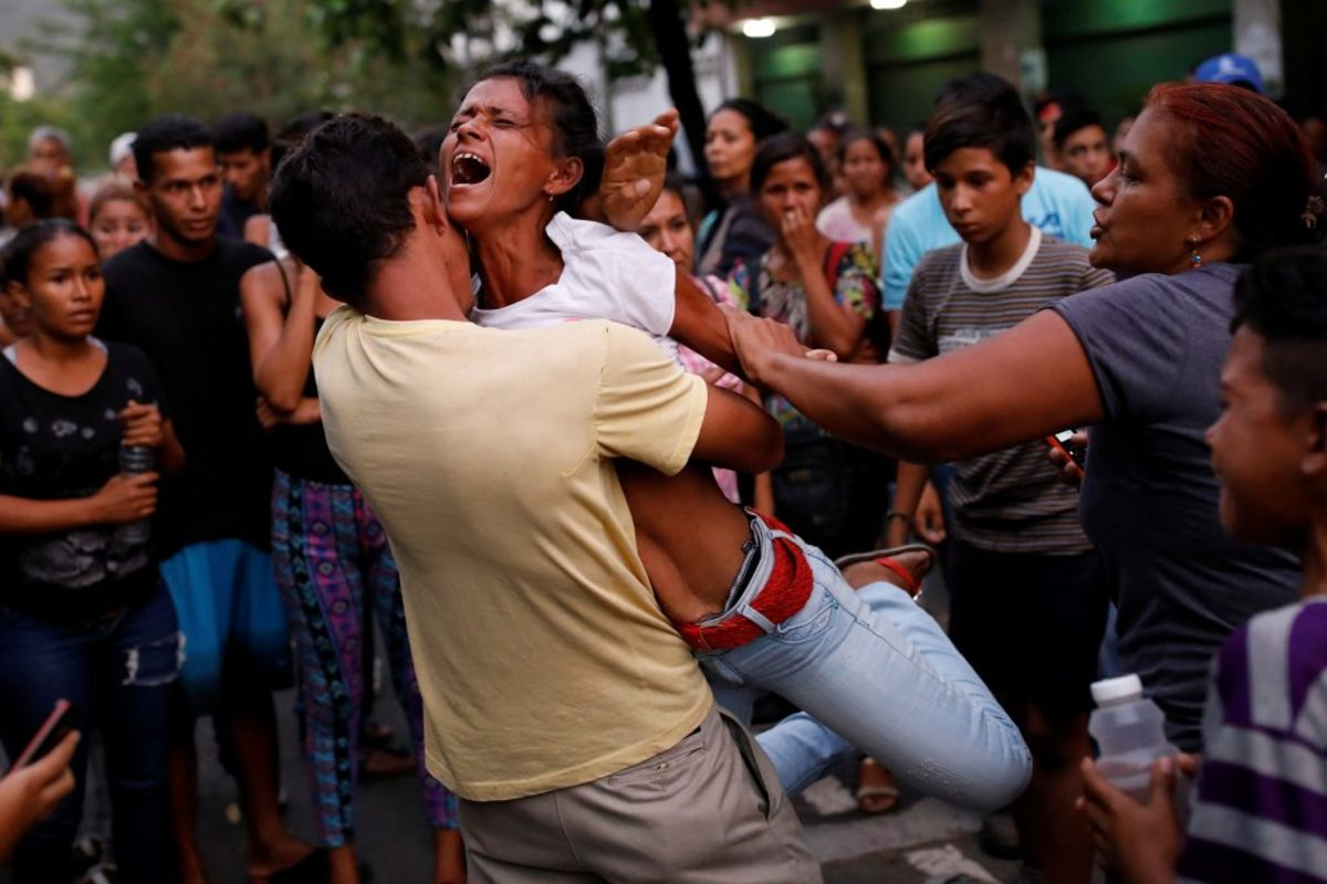 Βενεζουέλα φωτιά