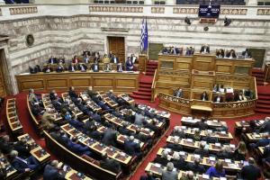 Βουλή Live: Η πρόταση της ΝΔ για προκαταρκτική για Κουρουμπλή, Ξανθό και Πολάκη για την υπόθεση Novartis