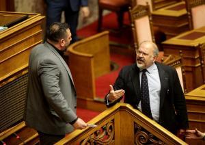 Αντιδράσεις και καταδίκη των κομμάτων για το νέο επεισόδιο με την Χρυσή Αυγή στην Βουλή