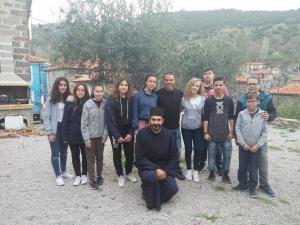 Στη Λέσβο ο Μιχάλης Ζαμπίδης για προσκύνημα στον Ταξιάρχη Μανταμάδου και στον Άγιο Λουκά στην Πελόπη (pics)