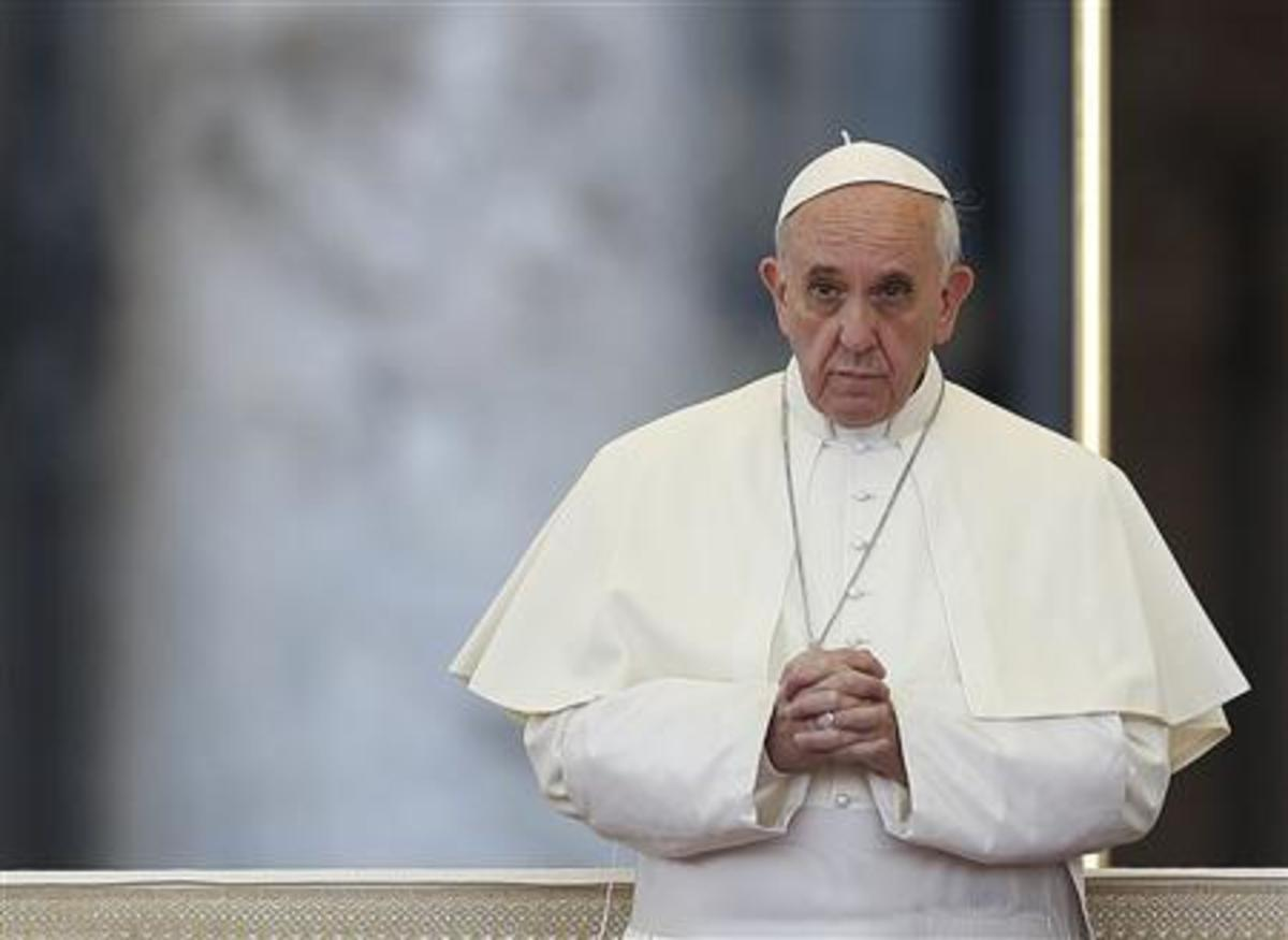 """Παρέμβαση Πάπα Φραγκίσκου για την Συρία: """"Είμαι ενοχλημένος…"""""""