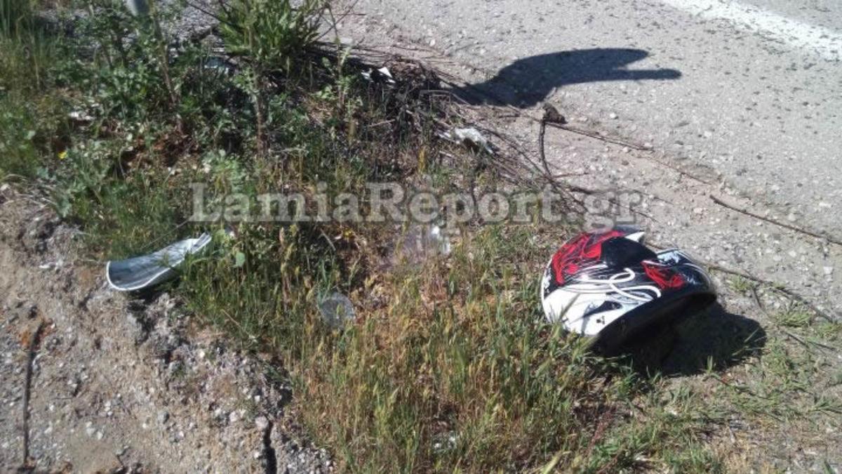 Φθιώτιδα: Το απότομο φρενάρισμα έφερε αυτές τις εικόνες – Δάκρυα και πόνος στην εθνική οδό [pics, vid]
