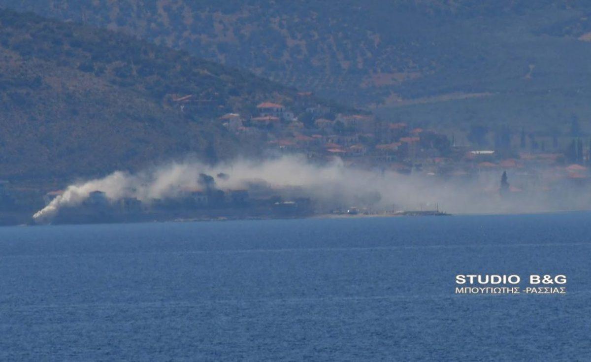 Αργολίδα: Αναστάτωση από καπνό που κάλυψε ολόκληρη περιοχή