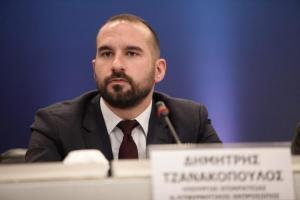 Τζανακόπουλος: Τίποτα δεν μπορεί να διακόψει την πορεία εξόδου από το πρόγραμμα χωρίς νέες επιβαρύνσεις