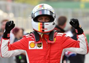 F1: Τρίτη σερί pole position για Φέτελ