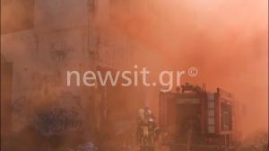 Εντυπωσιακές εικόνες στη Δραπετσώνα – Άσκηση της Πυροσβεστικής για σεισμό