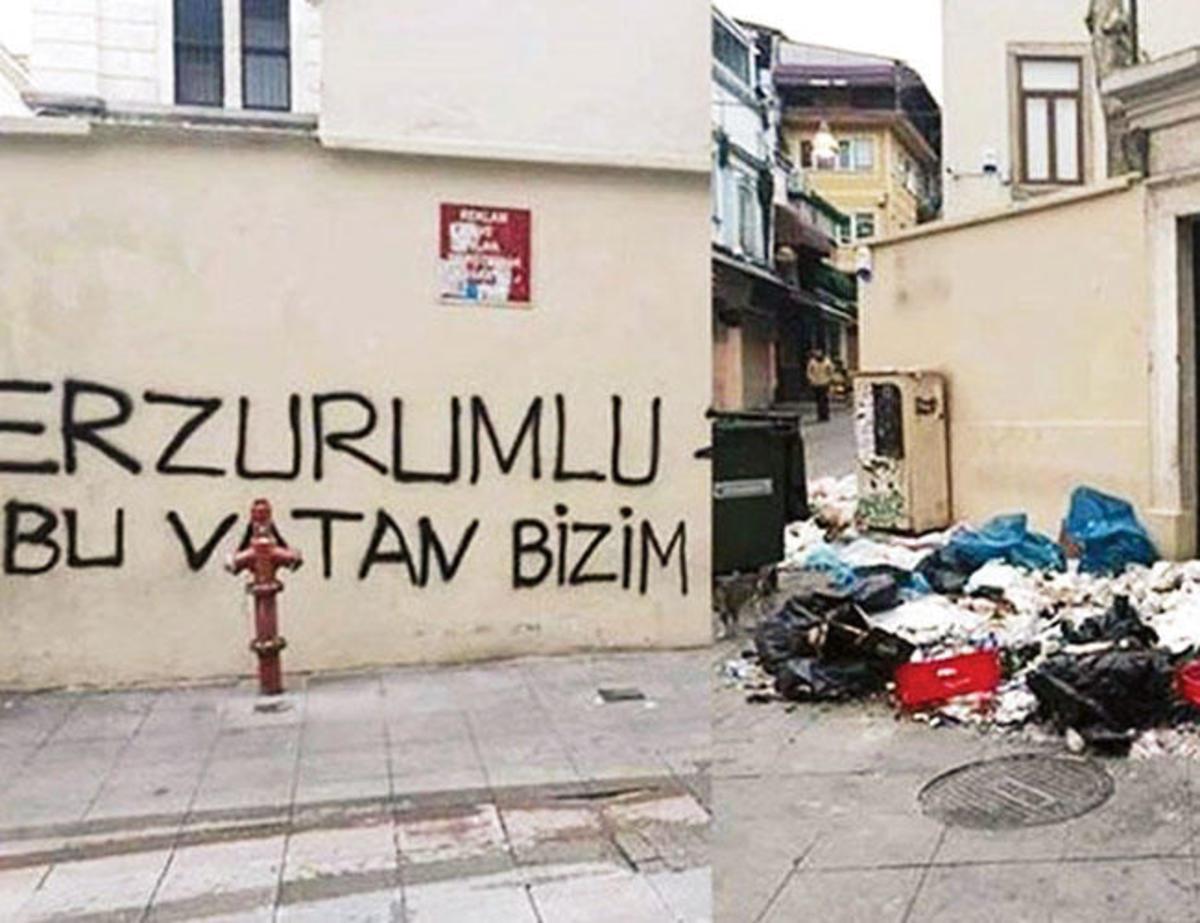 Επίθεση σε αρμένικη εκκλησία στην Κωνσταντινούπολη – Ρατσιστικό μήνυμα και σκουπίδια στην πόρτα