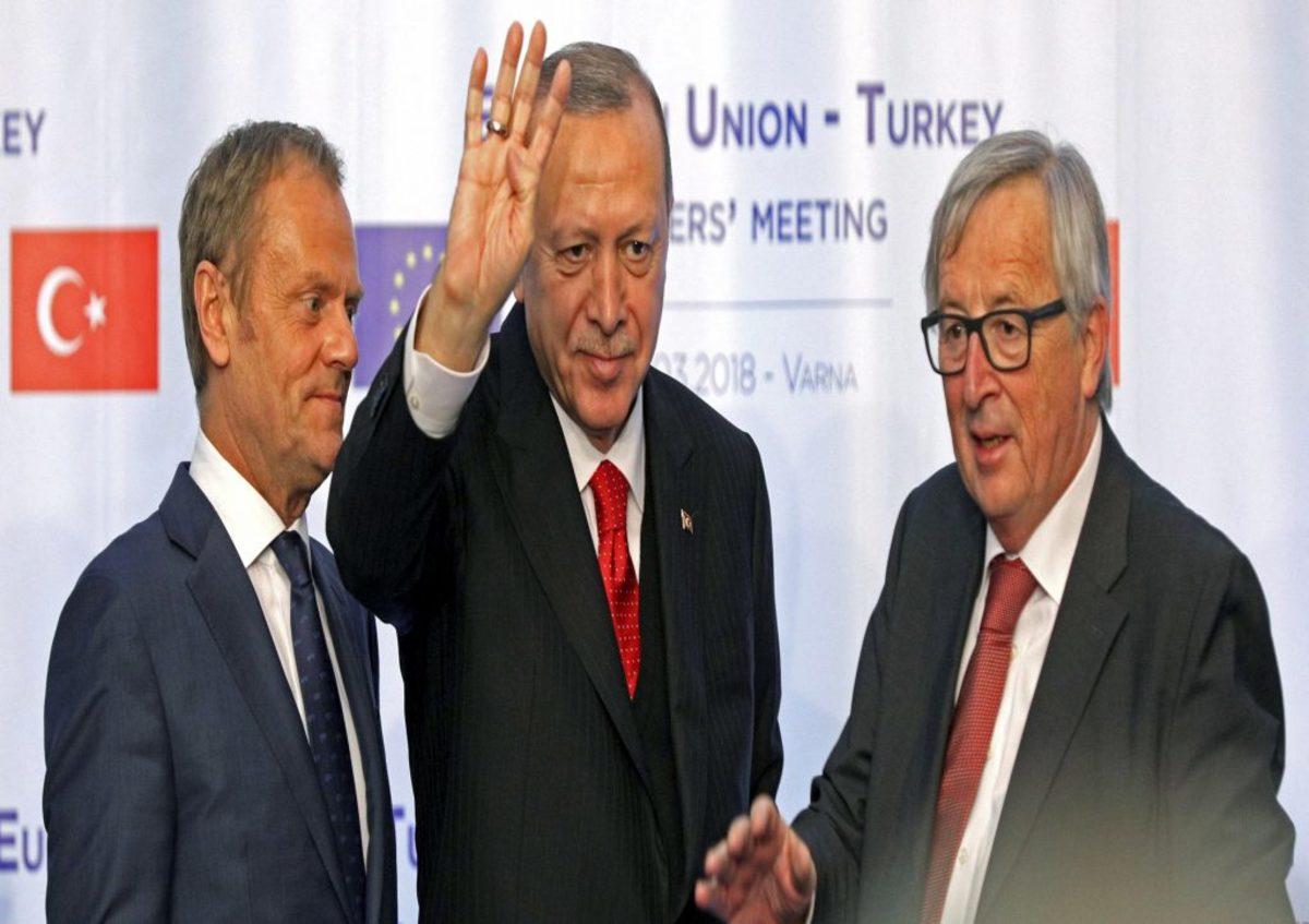 Ερντογάν Γιούνκερ Τουσκ κυπριακή ΑΟΖ