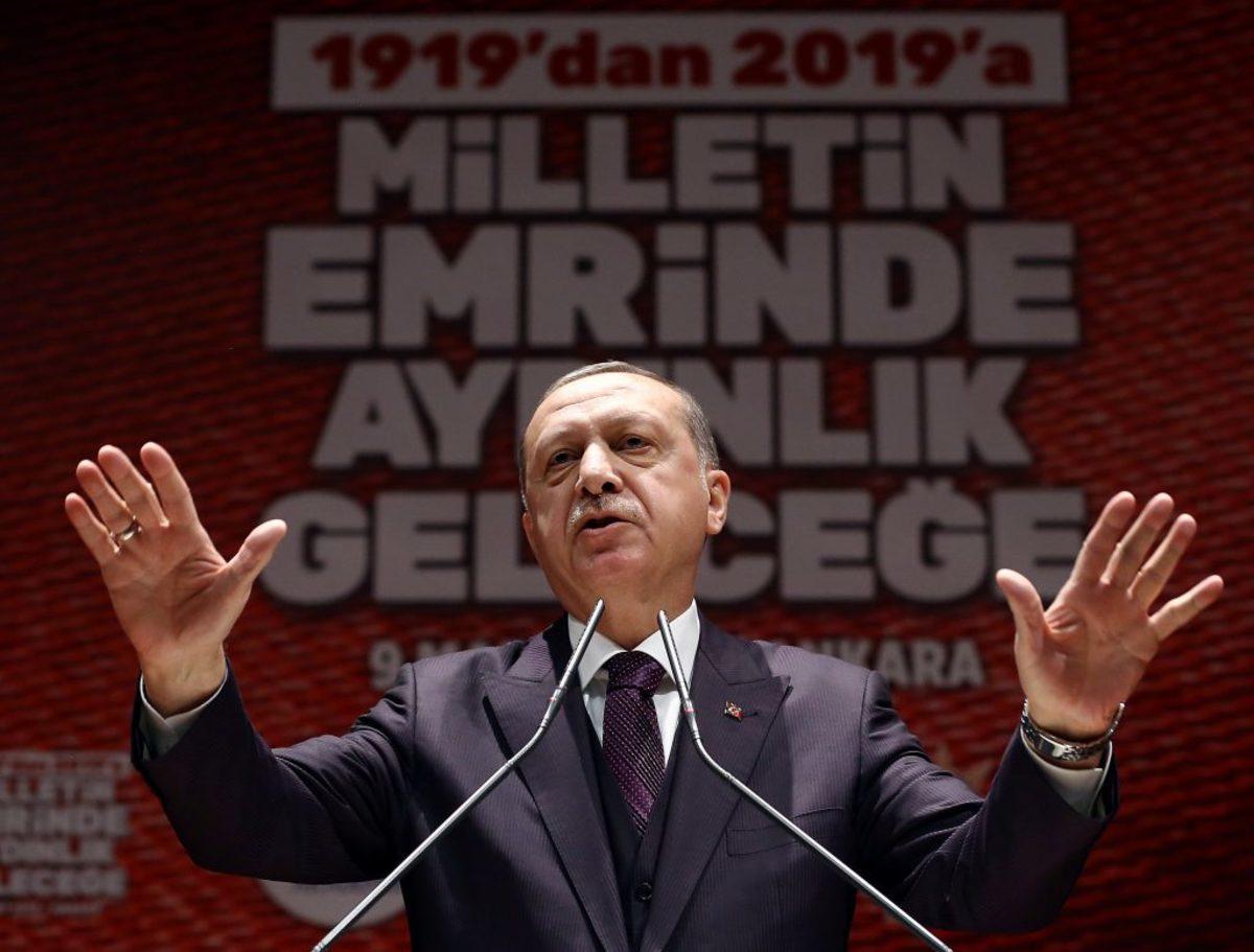 Ερντογάν Τουρκία εκλογές