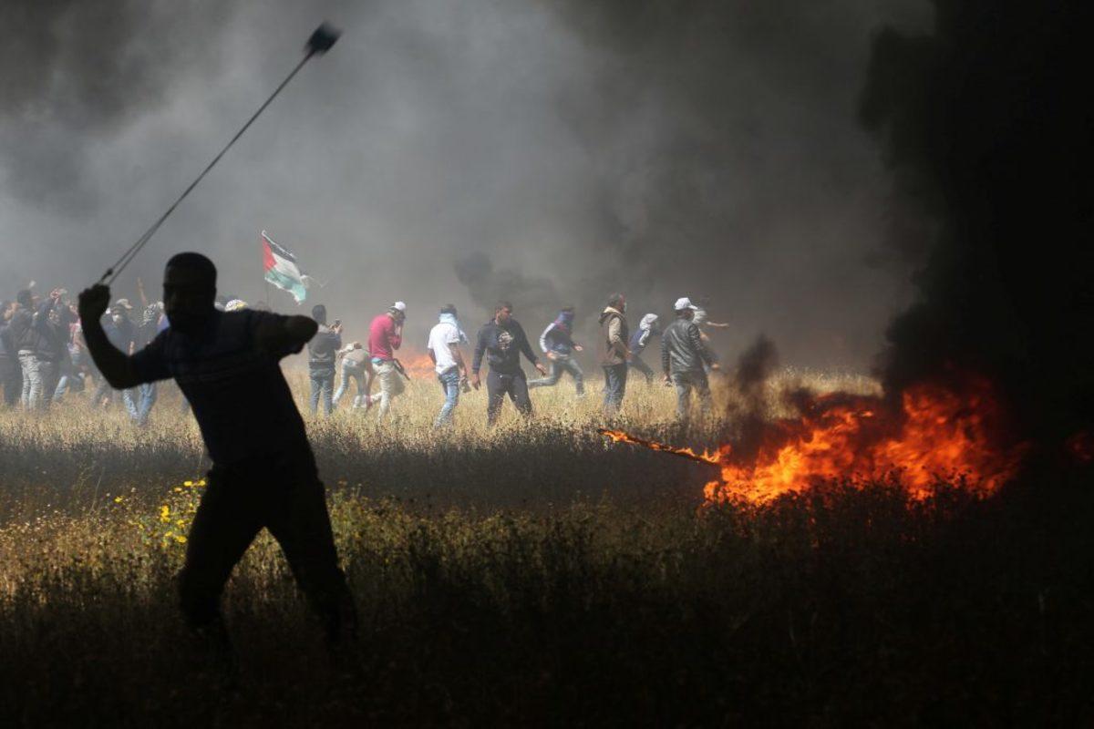"""Γάζα: Κόλαση δίχως τέλος! Αυξάνονται οι νεκροί από τις αιματηρές διαδηλώσεις! Δεύτερο """"μπλόκο"""" από τις ΗΠΑ στον ΟΗΕ και δολοφονική σιωπή για την """"σφαγή"""""""