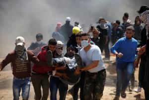 """""""Κόλαση"""" στη Γάζα: Φωτιές, νεκροί και τραυματίες"""