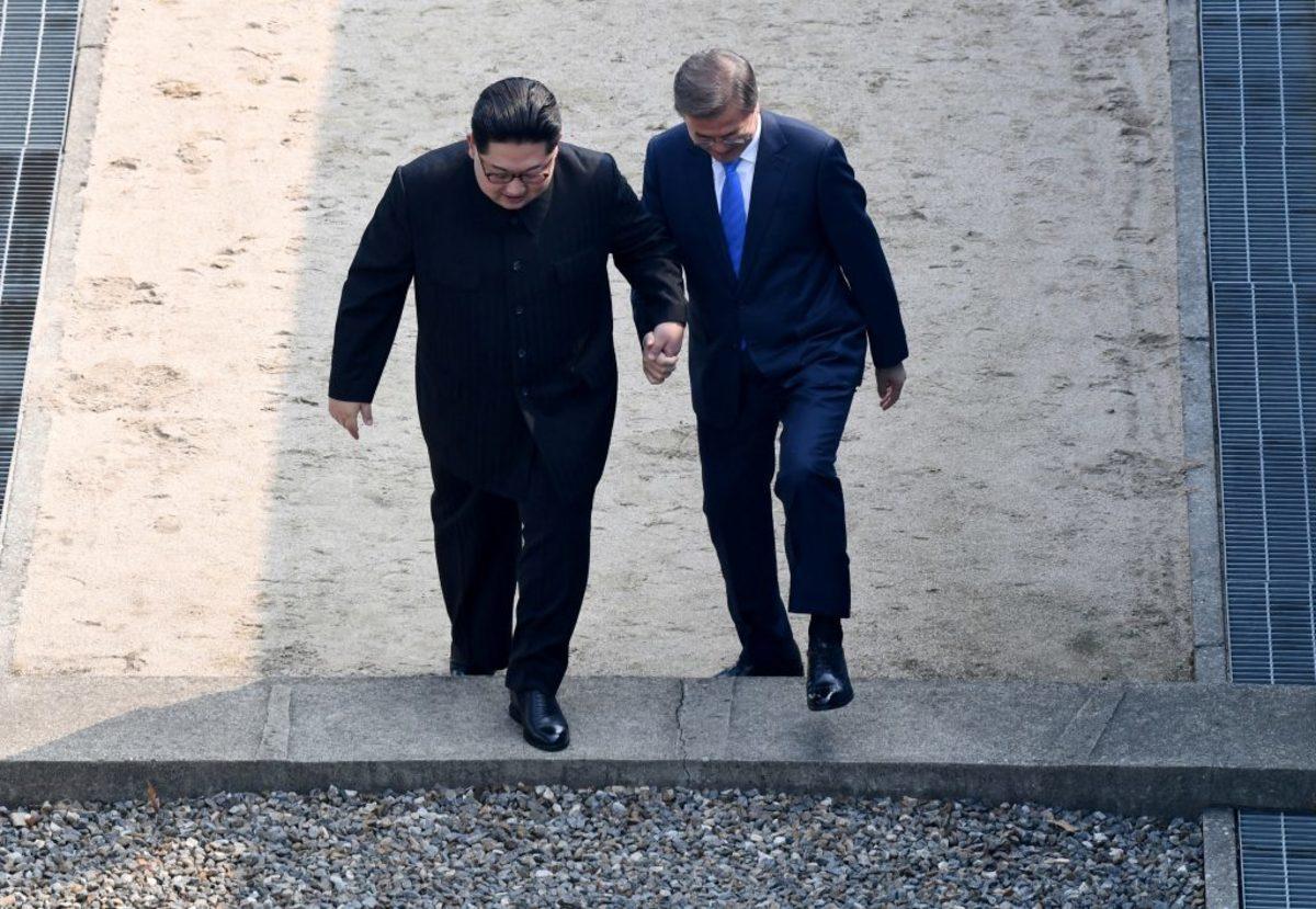 Κιμ Γιονγκ Ουν Βόρεια Κορέα Νότια Κορέα