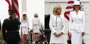 """""""Λευκή θύελλα"""" η Μελάνια Τραμπ! Μαγνήτισε τα βλέμματα με μία επιβλητική εμφάνιση και την """"καυτή"""" πίσω όψη της [pics, vid]"""