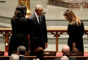 Η πιο ευτυχισμένη στιγμή της Μελάνια ήταν σε μια κηδεία