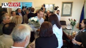Λακωνία: Εικόνες από την επίσκεψη του Κυριάκου Μητσοτάκη στο λιμάνι της Νεάπολης [pic, vid]