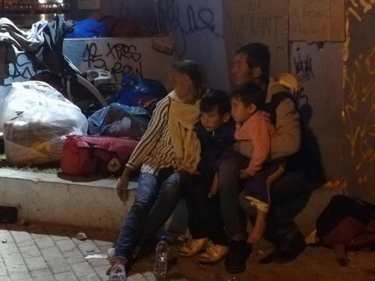 Μυτιλήνη επεισόδια ακροδεξιοί μετανάστες