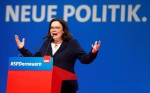 Αντρέα Νάλες: Η κόρη του οικοδόμου που θέλει να γίνει καγκελάριος της Γερμανίας