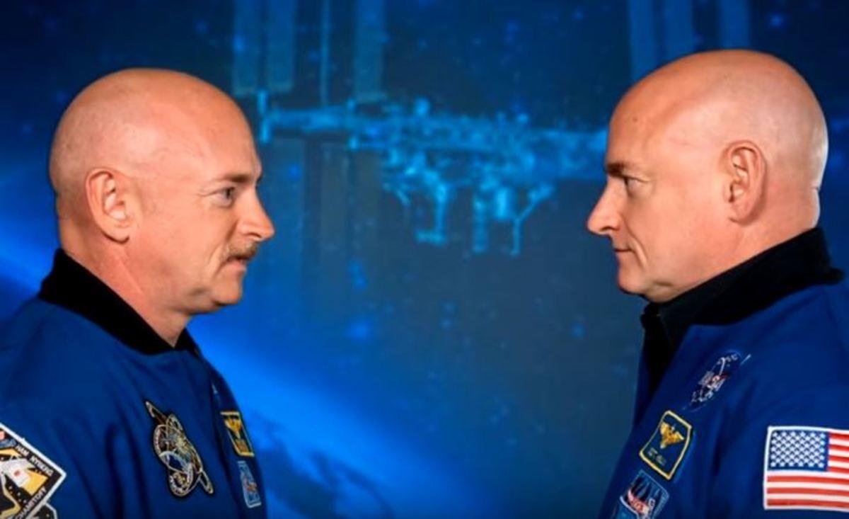 Δίδυμοι δεν φέρουν πια το ίδιο DNA μετά από ένα χρόνο του ενός στο Διάστημα