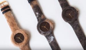 Φτιάχνουν ρολόγια από γούνα κατοικίδιων!