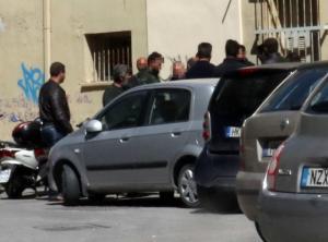 Κρήτη: Άγρια επεισόδια και ξύλο στα δικαστήρια για τη σφαγή των προβάτων [pics]