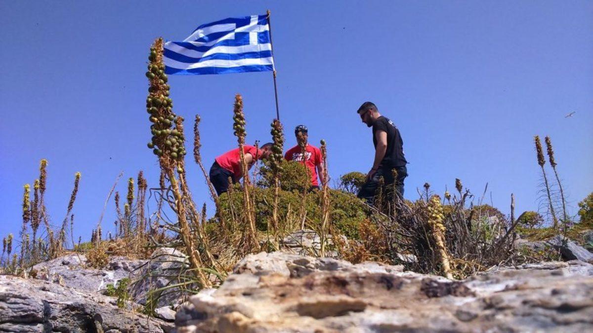 Γιλντιρίμ και Τσαβούσογλου: Τούρκοι κομάντο κατέβασαν την ελληνική σημαία από βραχονησίδα!